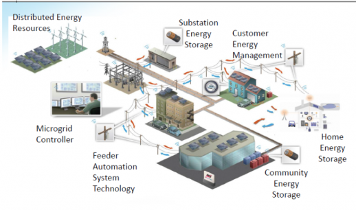 develop a microgrid