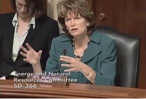 Murkowski discusses remote microgrids during March committee hearing