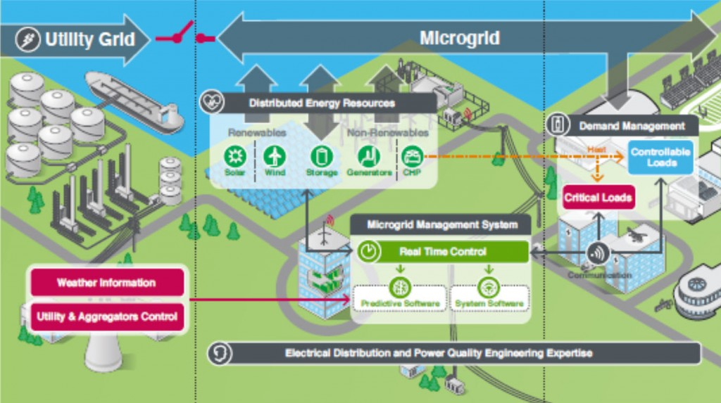 A Typical Microgrid