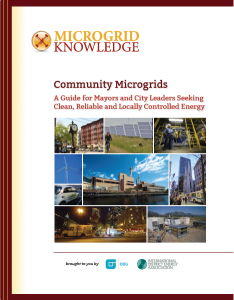 financing community microgrids