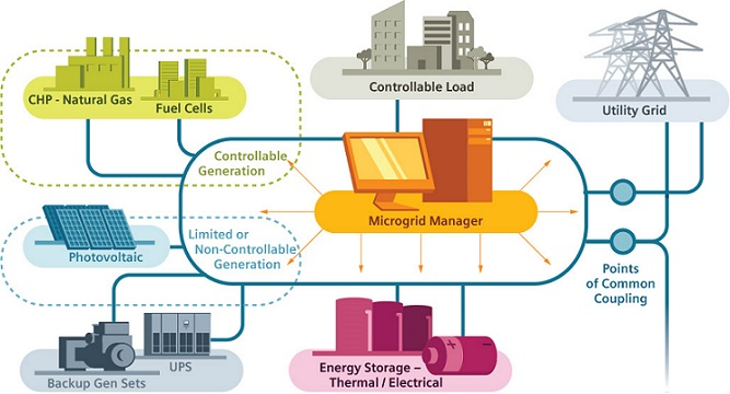 low-carbon microgrid