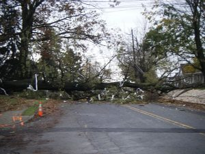 Destruction from Superstorm Sandy in Pennsylvania