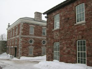 Sault Ste Marie Canal powerhouse and workshop