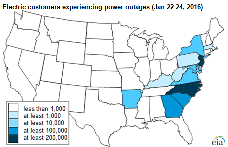 outage map blizzard 2016