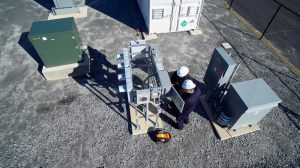 Microgrid testbed
