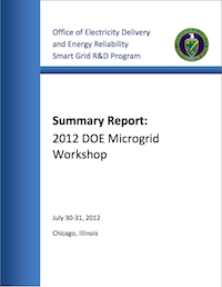 microgrid workshop 2012