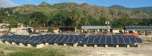First Microgrid in Haiti