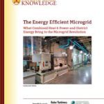 The Energy Efficient Microgrid What Combined Heat & Power and District Energy Bring to the Microgrid Revolution