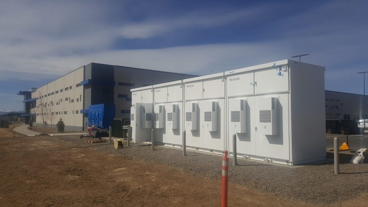 Younicos Solar Plus Storage Microgrid Installed At