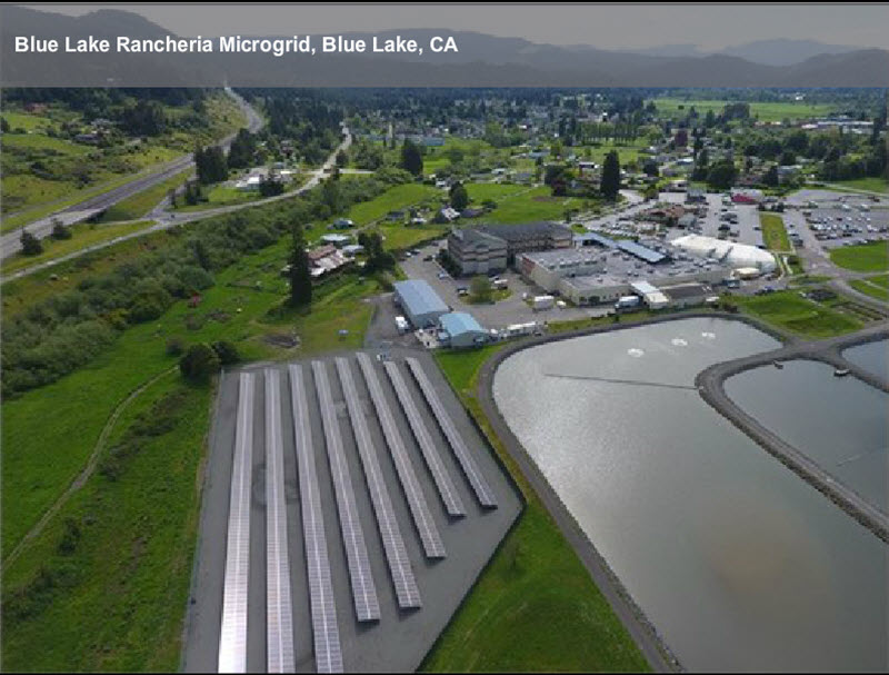 Tribal Microgrid Goes Live In Northern California As A