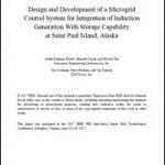 Design and Development of a Microgrid Control System