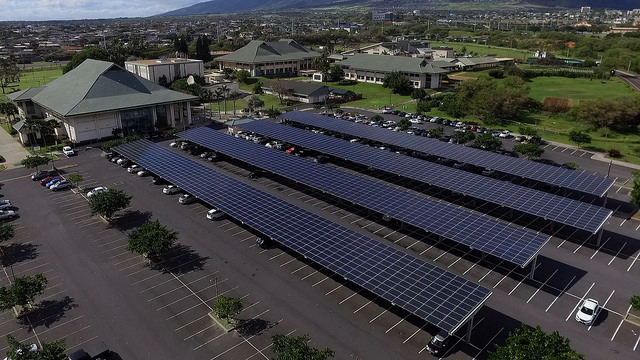 Solar Microgrid With Energy Storage Makes Hawaii Campus