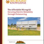 The Affordable Microgrid: Securing Electric Reliability through Outsourcing