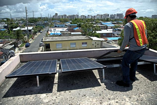 microgrids in Puerto Rico