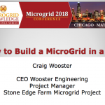 How to Build a Microgrid in a Day