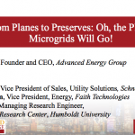 From Planes to Preserves: Oh the Places Microgrids Will Go!