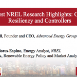 Latest NREL Research Highlights: Costs, Resiliency and Microgrids