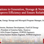 Innovations in Energy Generation, Storage & Networks to Improve Efficiency and Ensure Reliability