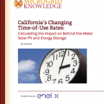 California's Changing Time-of-Use Rates: Calculating the Impact on Behind-the-Meter Solar PV and Energy Storage