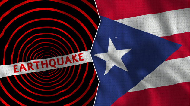 Earthquake Measuring 5.9 On Richter Scale Hits Puerto Rico
