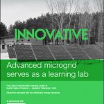 Advanced Microgrid Serves as a Learning Lab