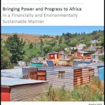 Bringing Power and Progress to Africa in a Financially and Environmentally Sustainable Manner