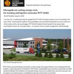 Microgrids are Cutting Energy Costs for Trucking and Logistics Innovator PITT OHIO