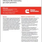 The Case for Waste to Energy: Utilizing Low-Btu Reciprocating Gas Engine Generators