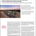 Unlocking new revenue and stabilising large electric grids with energy storage
