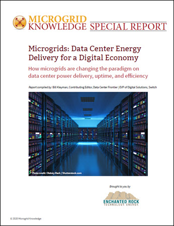 data center microgrids