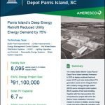 Parris Island Microgrid, Deep Energy Retrofit Reduced Utility Energy Demand by 75%