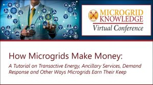Making Money with Microgrids