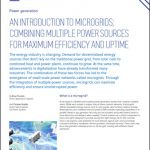 An Introduction to Microgrids: Combining Multiple Power Sources for Maximum Efficiency and Uptime