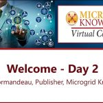 Kevin Normandeau Welcome and Microgrid Knowledge Virtual Conference Tips for Day Two