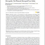 Transactive Energy Market for Energy Management in Microgrids: The Monash Microgrid Case Study