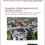Nanogrids: A New Opportunity for the Solar Industry
