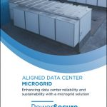 Enhancing data center reliability and sustainability with a microgrid solution