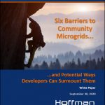 Six Barriers to Community Microgrids and Potential Ways Developers can Surmount Them