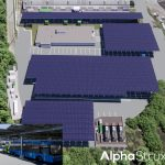 Montgomery County's Microgrid Electric Bus Depot Under Construction