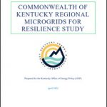 Commonwealth of Kentucky Regional Microgrids for Resilience Study