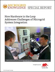 hardware in the loop microgrid system integration microgrid controller