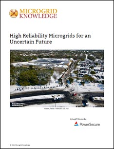 high reliability microgrids
