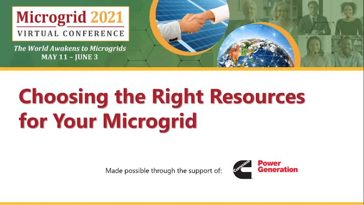 Microgrid Resources