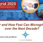 How Far and How Fast Can Microgrids Grow over the Next Decade?