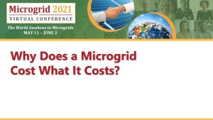 Microgrid Costs